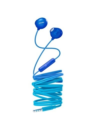 Philips She2305Bl/00 Upbeat Mıkrofonlu Kulakıcı Kulaklık Mavi Mavi
